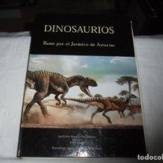 Libros de segunda mano: DINOSAURIOS RUTAS POR EL JURASICO DE ASTURIAS.J.C.MARTINEZ/LIRES/PIÑUELA.LA VOZ DE ASTURIAS 2002. Lote 252534205