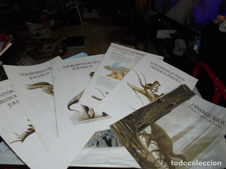 Libros de segunda mano: DINOSAURIOS RUTAS POR EL JURASICO DE ASTURIAS.J.C.MARTINEZ/LIRES/PIÑUELA.LA VOZ DE ASTURIAS 2002 - Foto 4 - 252534205