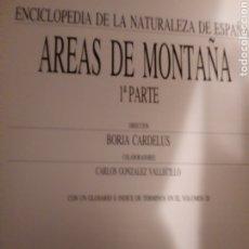 Libros de segunda mano: AREAS DE MONTAÑA.. Lote 252955105