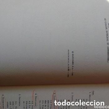 Libros de segunda mano de Ciencias: 1966 EL CALCULO INTEGRAL Y DIFERENCIAL, PERO SI ES MUY FACIL!! MARCOMBO - Foto 2 - 253555615