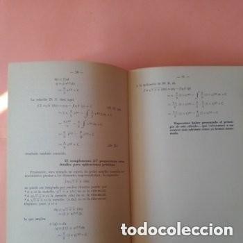 Libros de segunda mano de Ciencias: 1966 EL CALCULO INTEGRAL Y DIFERENCIAL, PERO SI ES MUY FACIL!! MARCOMBO - Foto 4 - 253555615