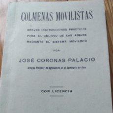 Libros de segunda mano: PIRINEO ARAGONÉS. APICULTURA COLMENAS MOVILISTAS. JOSÉ CORONAS. DEDICADO P/AUTOR 1937 SEMINARIO JACA. Lote 253719435