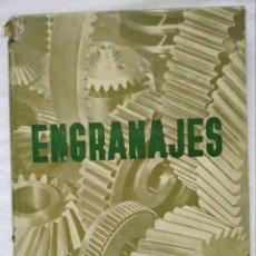 Libri di seconda mano: ENGRANAJES.J. CAMPABADAL MARTI. EDICIONES ARIEL. 1958. CCTT. Lote 254405420