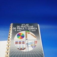 Libri di seconda mano: ATLAS DE PRACTICAS DE FISICA Y QUIMICA. E. SEBA. A. ROCA. EDICIONES JOVER. 1988.. Lote 254911560