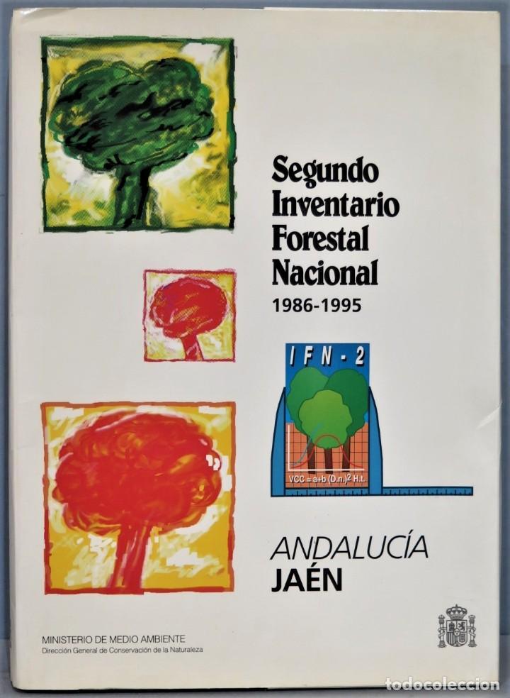 SEGUNDO INVENTARIO FORESTAL NACIONAL 1986-1995. JAEN (Libros de Segunda Mano - Ciencias, Manuales y Oficios - Biología y Botánica)