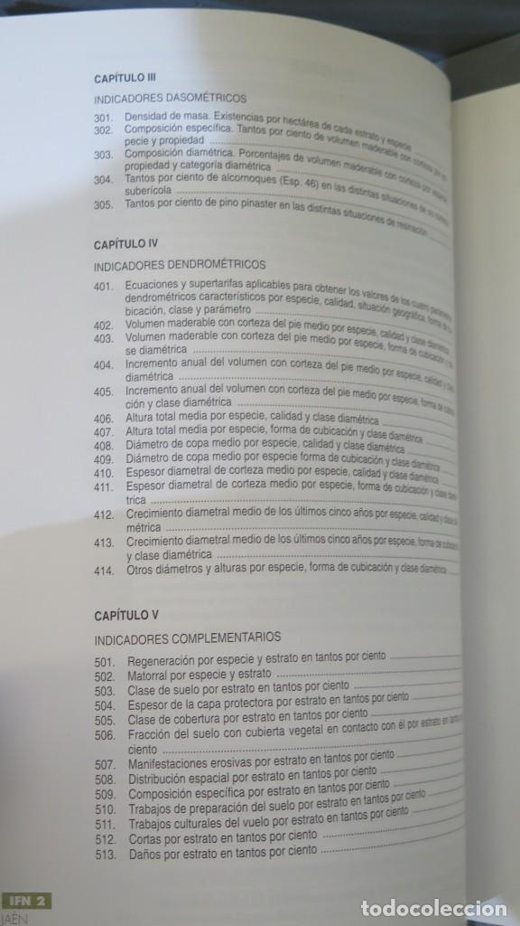 Libros de segunda mano: SEGUNDO INVENTARIO FORESTAL NACIONAL 1986-1995. JAEN - Foto 5 - 255003200