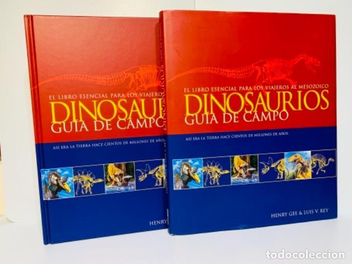 DINOSAURIOS. GUÍA DE CAMPO. ED. OCÉANO. 1ERA EDICIÓN OCTUBRE 2003. HENRY GEE, LUIS V. REY. IMPECABLE (Libros de Segunda Mano - Ciencias, Manuales y Oficios - Paleontología y Geología)