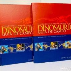 Libros de segunda mano: DINOSAURIOS. GUÍA DE CAMPO. ED. OCÉANO. 1ERA EDICIÓN OCTUBRE 2003. HENRY GEE, LUIS V. REY. IMPECABLE. Lote 255004420
