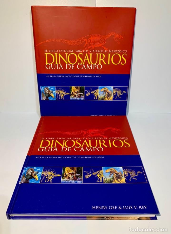 Libros de segunda mano: Dinosaurios. Guía de Campo. Ed. Océano. 1era edición Octubre 2003. Henry Gee, Luis V. Rey. Impecable - Foto 2 - 255004420