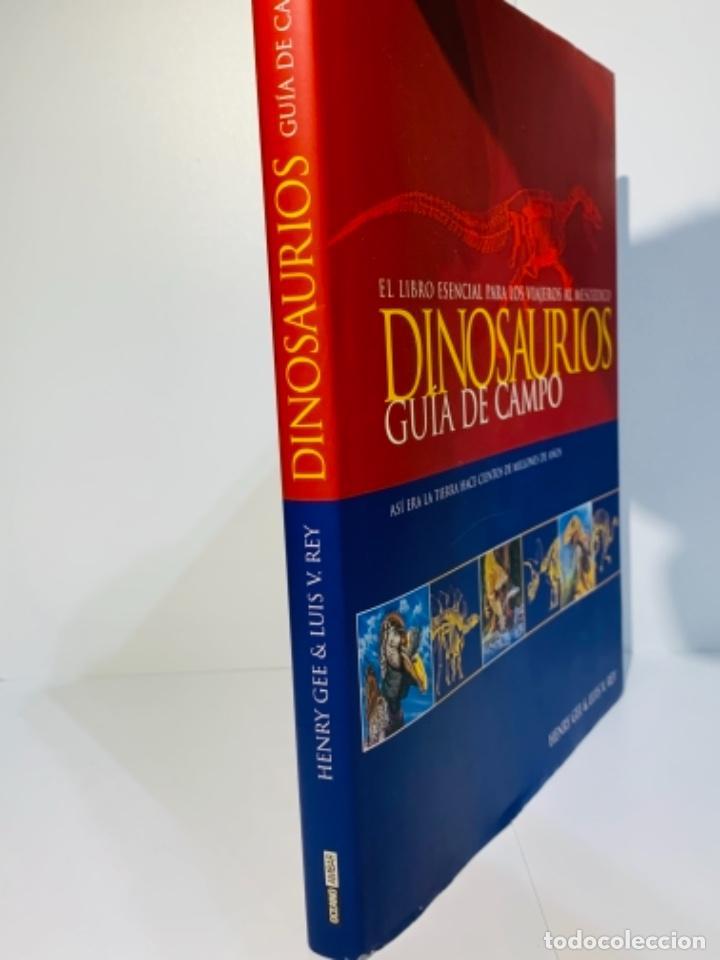 Libros de segunda mano: Dinosaurios. Guía de Campo. Ed. Océano. 1era edición Octubre 2003. Henry Gee, Luis V. Rey. Impecable - Foto 4 - 255004420