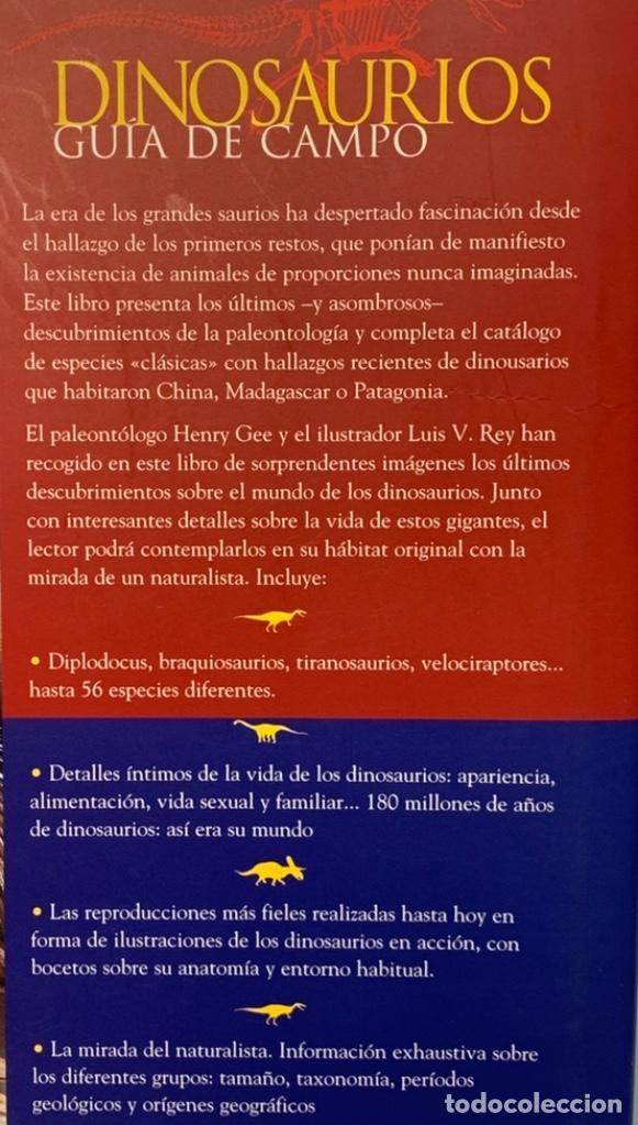 Libros de segunda mano: Dinosaurios. Guía de Campo. Ed. Océano. 1era edición Octubre 2003. Henry Gee, Luis V. Rey. Impecable - Foto 5 - 255004420