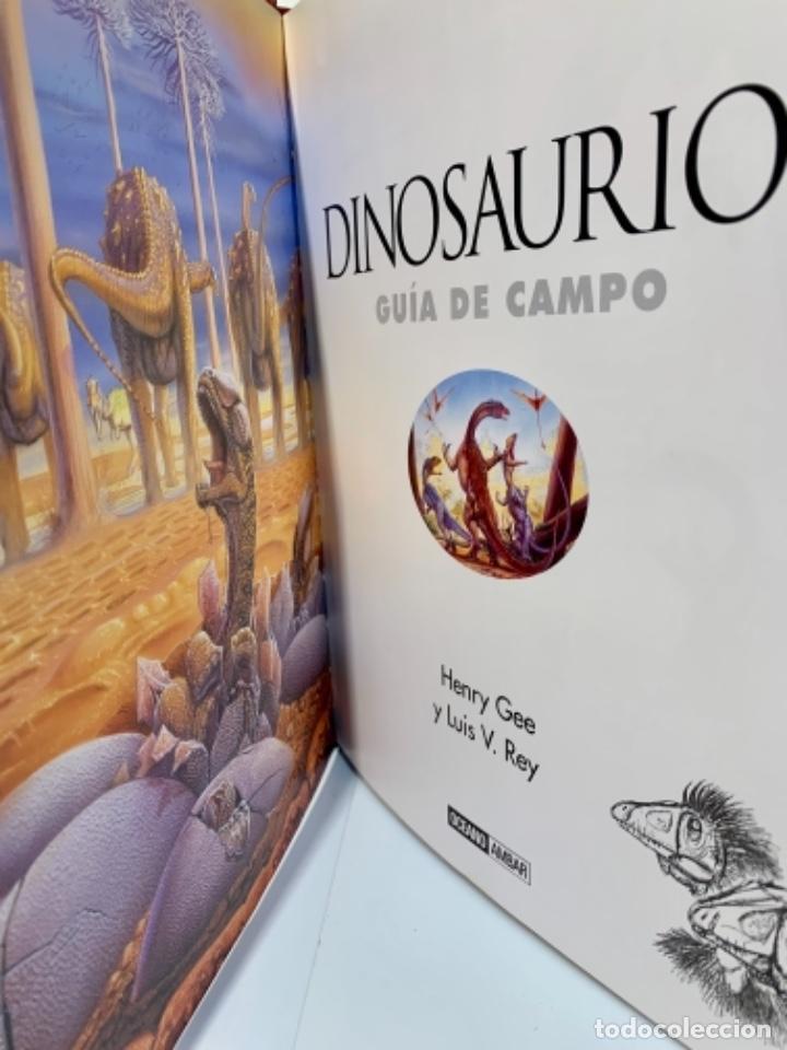 Libros de segunda mano: Dinosaurios. Guía de Campo. Ed. Océano. 1era edición Octubre 2003. Henry Gee, Luis V. Rey. Impecable - Foto 7 - 255004420