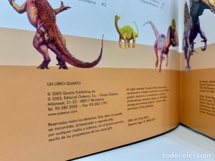 Libros de segunda mano: Dinosaurios. Guía de Campo. Ed. Océano. 1era edición Octubre 2003. Henry Gee, Luis V. Rey. Impecable - Foto 8 - 255004420
