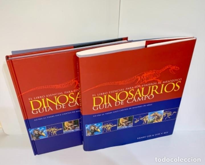 Libros de segunda mano: Dinosaurios. Guía de Campo. Ed. Océano. 1era edición Octubre 2003. Henry Gee, Luis V. Rey. Impecable - Foto 17 - 255004420