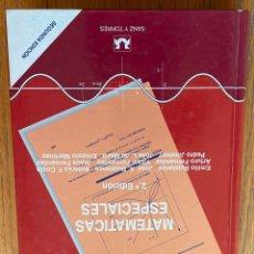 Libros de segunda mano de Ciencias: MATEMATICAS ESPECIALES, SANZ Y TORRES. Lote 255335740