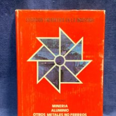 Libros de segunda mano: SITUACION ENERGETICA EN LA INDUSTRIA MINERIA ALUMINIO METALES NO FERREOS 24X17X2CMS. Lote 255545255