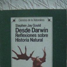 Livres d'occasion: DESDE DARWIN. REFLEXIONES SOBRE HISTORIA NATURAL - STEPHEN JAY GOULD. HERMANN BLUME, 1983. Lote 255959650