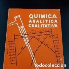Livros em segunda mão: 1970 QUIMICA ANALITICA CUALITATIVA, PROBLEMAS Y CUESTIONES, TAPA BLANDA. Lote 256020220