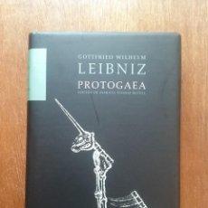 Libros de segunda mano: PROTOGAEA, GOTTFRIED WILHELM LEIBNIZ, EDICION DE EVARISTO ALVAREZ MUÑOZ, KRK, 2006. Lote 256790430