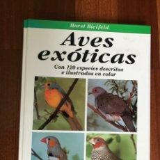 Livres d'occasion: AVES EXÓTICAS 120 ESPECIES BIELFELD, HORST- ED.OMEGA 1996. Lote 257366260