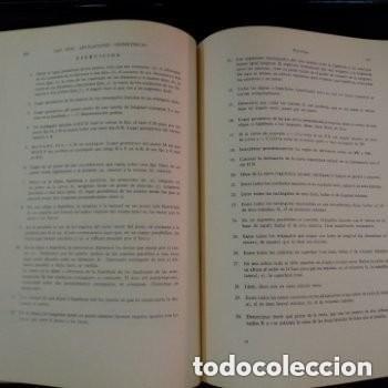 Libros de segunda mano de Ciencias: 964 ELEMENTOS DE MATEMATICAS J.REY PASTOR/A. DE CASTRO BREZEZICKI 3° EDICION AMPLIADA - Foto 3 - 257732285