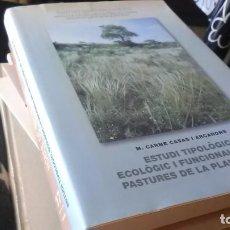 Libros de segunda mano: LA PLANA DE VIC, LES PASTURES. Lote 257787495