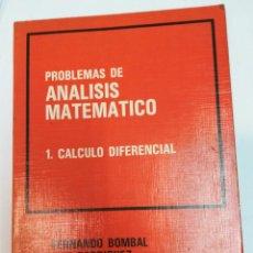 Livros em segunda mão: VV.AA PROBLEMAS DE ANÁLISIS MATEMÁTICO. TOMO 1. CÁLCULO DIFERENCIAL SA3871. Lote 257809150