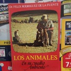 Libros de segunda mano: LOS ANIMALES EN SU MEDIO AMBIENTE....FELIX RODRIGUEZ DE LA FUENTE...1976..... Lote 257996560