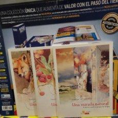 Libros de segunda mano: UNA MIRADA NATURAL...TRES TOMOS..I..II..III...2008..... Lote 258981690