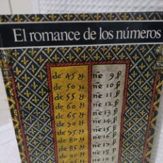 Libri di seconda mano: EL ROMANCE DE LOS NÚMEROS HISTORIA ILUSTRADA DE LA MATEMÁTICA - GIANCARLO MASINI. Lote 259040955