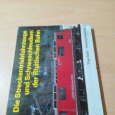 Libros de segunda mano de Ciencias: THEO STOLZ - ANDREAS HÄNECKE / AH56 / TRENES FUNICULARES TRANVIAS FERROCARRILES. Lote 259893970