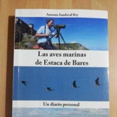 Libros de segunda mano: LAS AVES MARINAS DE ESTACA DE BARES (ANTONIO SANDOVAL REY). Lote 259949705