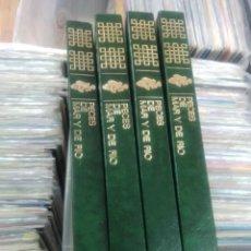 Livros em segunda mão: PECES DE MAR Y DE RÍO (4 TOMOS). Lote 261226340