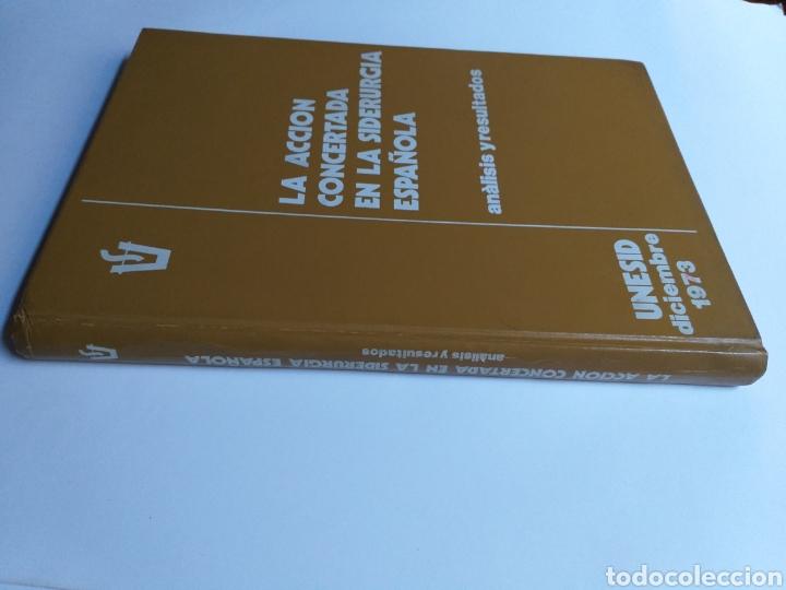 Libros de segunda mano de Ciencias: La acción concertada en la siderurgia española. Análisis y resultados . .. ciencia técnica industria - Foto 3 - 261609380