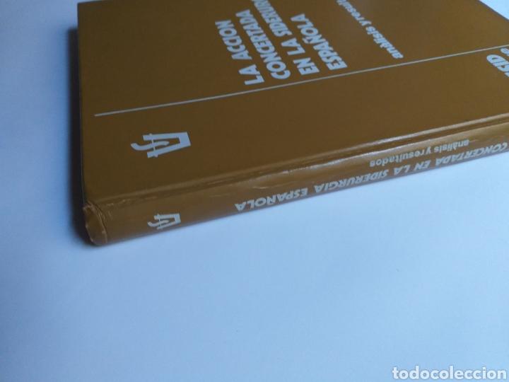 Libros de segunda mano de Ciencias: La acción concertada en la siderurgia española. Análisis y resultados . .. ciencia técnica industria - Foto 6 - 261609380