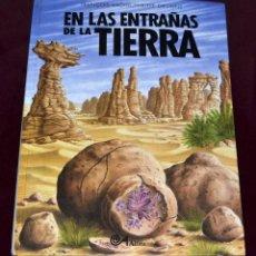 Libros de segunda mano: LIBRO EN LAS ENTRAÑAS DE LA TIERRA. FRANÇOIS MICHEL / PHILIPPE DAVAINE. ALTEA.. Lote 261947320