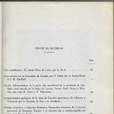 Libros de segunda mano: GEOLOGÍA MINERÍA GUADIX CÓRDOBA LUCENA BAENA MONTILLA P. GENIL CARCELÉN CALATAYUD. Lote 261966330