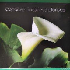 Libros de segunda mano: CONOCER NUESTRAS PLANTAS. EDICIONES LA CAIXA. 2007.123 PÁGINAS.. Lote 262242290