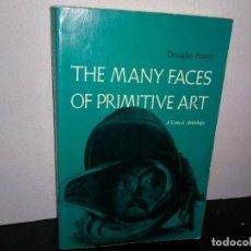 Libros de segunda mano: 6- INGLÉS - LOS MUCHOS ROSTROS DEL ARTE PRIMITIVO / THE MANY FACES OF PRIMITIVE ART - DOUGLAS FRASER. Lote 262324720