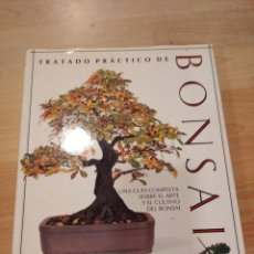 Libros de segunda mano: 'TRATADO PRÁCTICO DE BONSAI'. HARY TOMLINSON. Lote 262594015