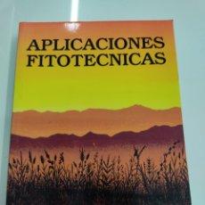 Libros de segunda mano: APLICACIONES FITOTÉCNICAS, PEDRO URBANO TERRÓN EDICIONES MUNDI PRENSA, 1983 AGRICULTURA Y CULTIVOS. Lote 262601970