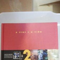 Libros de segunda mano: A VIDE E O VIÑO. VV.AA. ENCICLOPEDIA TEMÁTICA ILUSTRADA. A NOSA TERRA. (EN GALLEGO). Lote 262640840