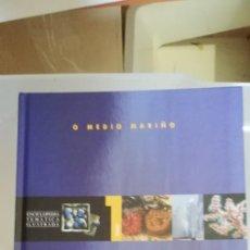 Libros de segunda mano: O MEDIO MARIÑO. VV.AA. ENCICLOPEDIA TEMÁTICA ILUSTRADA. A NOSA TERRA. (EN GALLEGO) 1998. Lote 262640990