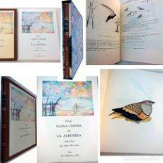 Libros de segunda mano: FLORA Y FAUNA DE LA ALBUFERA (2 TOMOS) 1990. Lote 262737765