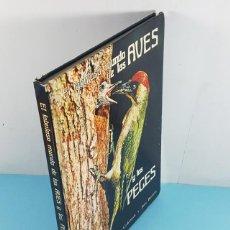 Libros de segunda mano: EL FABULOSO MUNDO DE LAS AVES Y LOS PECES, ROBERT/JANE BURTON Y BRUCE COLEMAN 1976 TAPA DURA 125 PAG. Lote 262797940