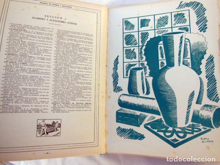 Libros de segunda mano de Ciencias: ANUARIO DE MINERÍA Y METALURGIA 1946 - 47 - Foto 3 - 262940995