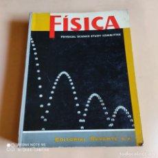 Libri di seconda mano: FISICA. PHYSICAL SCIENCE STUDY COMMITTEE. 1962. EDITORIAL REVERTE. 694 PAGS.. Lote 264276216