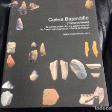 Livros em segunda mão: CUEVA BAJONDILLO (TORREMOLINOS) - MIGUEL CORTÉS SÁNCHEZ - ESPELEOLOGÍA. Lote 264550409