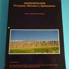 Livros em segunda mão: GEOMORFOLOGÍA. PRINCIPIOS, MÉTODOS Y APLICACIONES. JAVIER DE PEDRAZA GILSANZ Y COLABORADORES. Lote 265420094