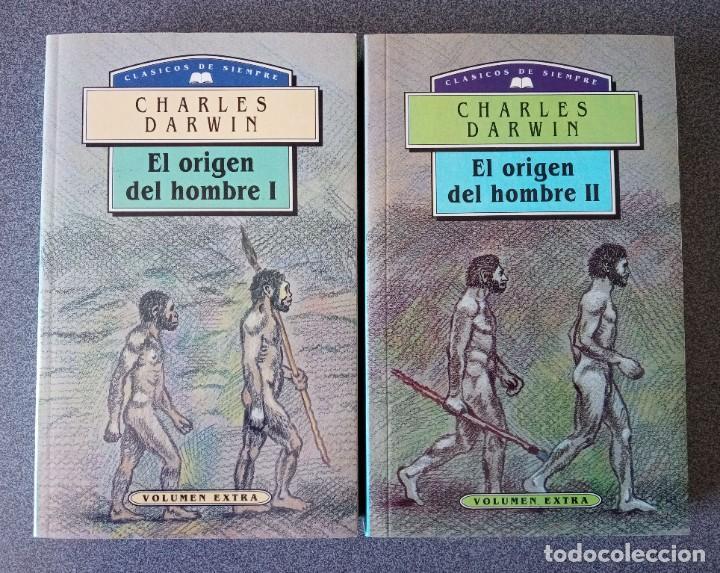 EL ORIGEN DEL HOMBRE CHARLES DARWIN (Libros de Segunda Mano - Ciencias, Manuales y Oficios - Paleontología y Geología)